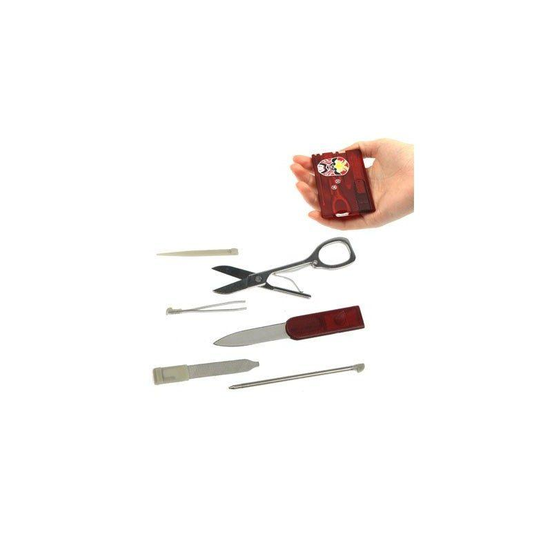 Cкладной нож-карточка – карманный несессер