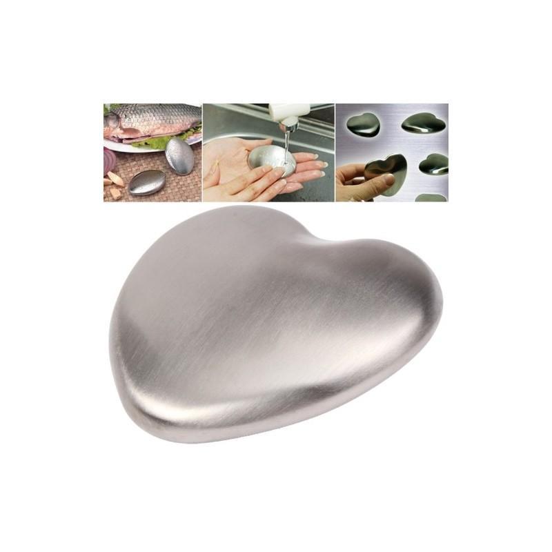 Мыло из нержавеющей стали – устраняет с рук запах рыбы, лука и т.д.