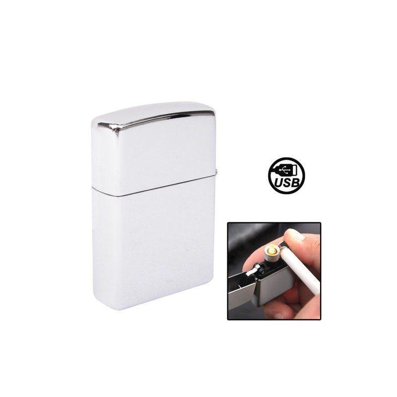 Электрическая зажигалка (без огня, зарядка по USB)