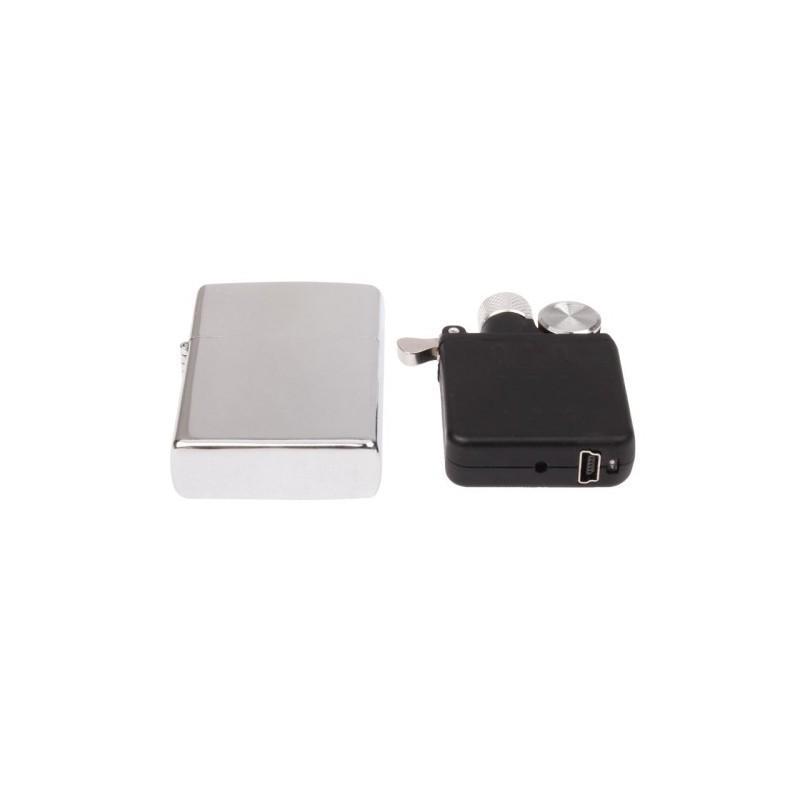 Электрическая зажигалка (без огня, зарядка по USB) 188167