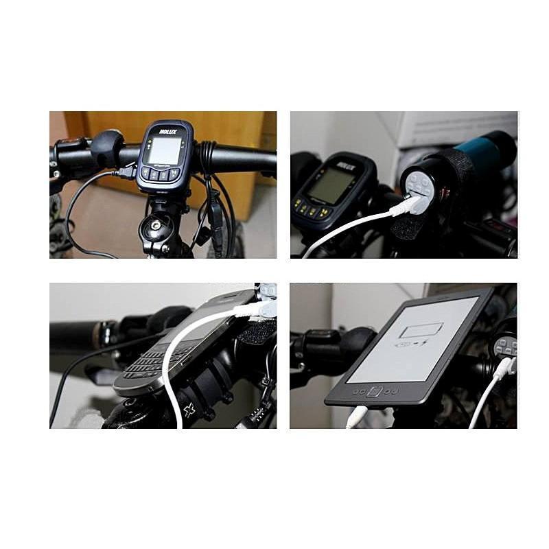 Велосипедный генератор электричества / USB-зарядка, 1000mAh 188174