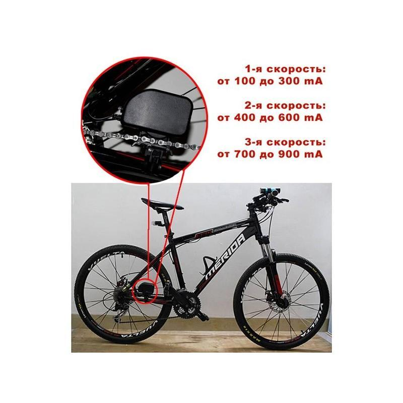 Велосипедный генератор электричества / USB-зарядка, 1000mAh 188176