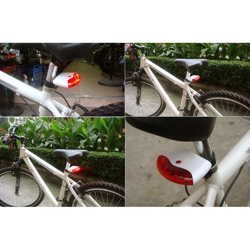 Светодиодная задняя фара (стоп-сигнал) на велосипед OG18 с G-сенсором 188183