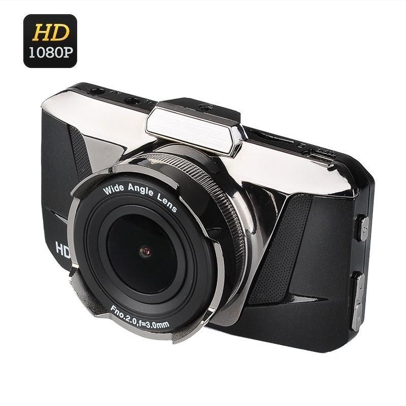 Автомобильный видеорегистратор Full View – FHD 1080p, ЖК-экран 3 дюйма, объектив 170 градусов, G-сенсор