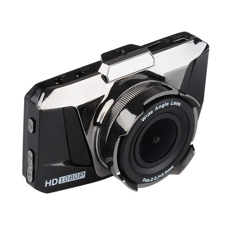Автомобильный видеорегистратор Full View – FHD 1080p, ЖК-экран 3 дюйма, объектив 170 градусов, G-сенсор 188199