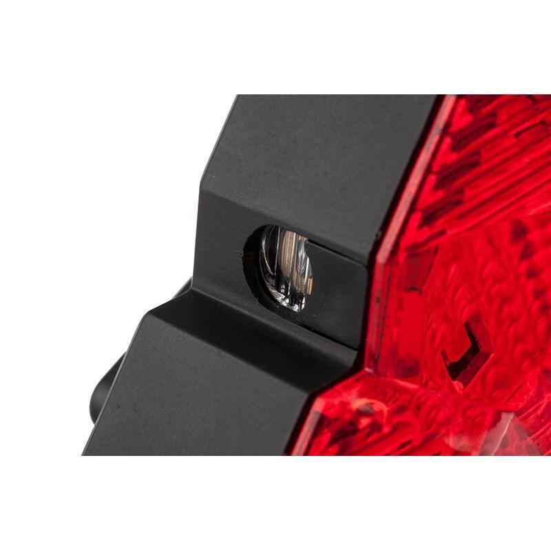 Всепогодная задняя фара для велосипеда Diamond-OG44: 2 лазера, 9 LED, 3 режима свечения 188211