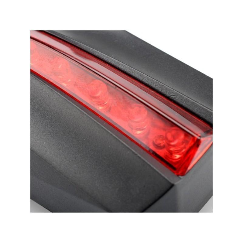 Лазерный/светодиодный задний фонарь для велосипеда LT261: 5 LED, 2 лазера, ультра-чувствительные датчики 188225