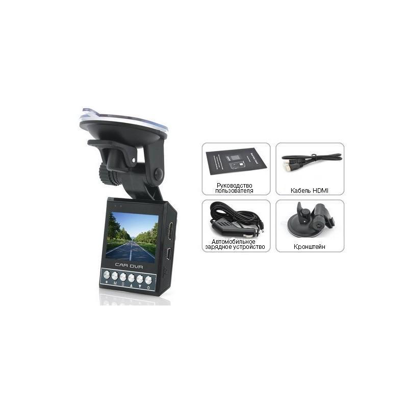 """Автомобильный видеорегистратор """"ProX C239"""" – ночное видение, 1080p, G-сенсор, zoom 4x, экран 2 дюйма 188279"""