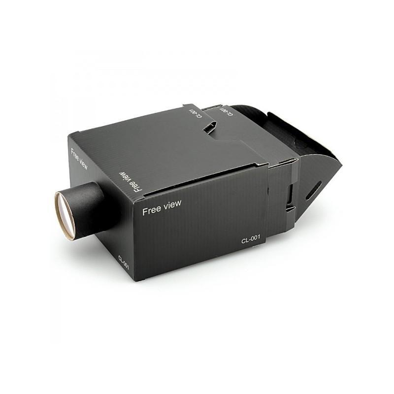 Картонный DIY-проектор E433 для смартфонов (увеличение 8х, поддержка Android и iOS) 188344