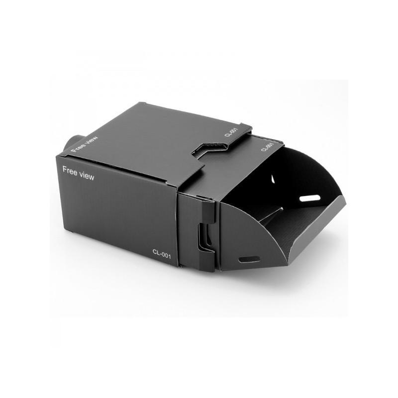 Картонный DIY-проектор E433 для смартфонов (увеличение 8х, поддержка Android и iOS) 188345