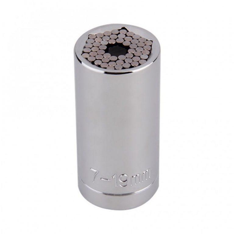 6390 - Суперключ Distordo – ключ-трещетка + насадка + переходник для дрели, захват 7-19 мм