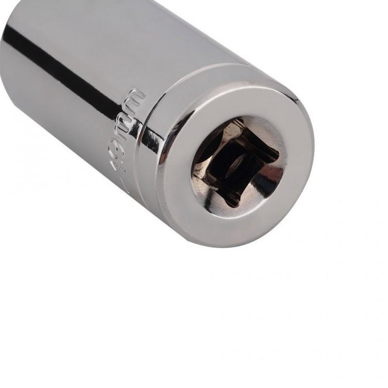Суперключ Distordo – ключ-трещетка + насадка + переходник для дрели, захват 7-19 мм 188379
