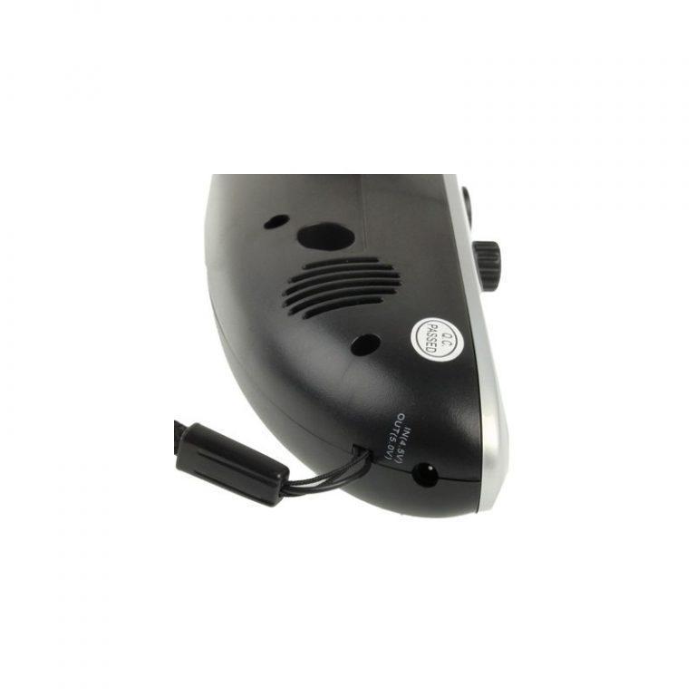 6402 - Светодиодный фонарь (4 LED) + power bank: динамо-машина, солнечная панель, адаптеры для разных устройств