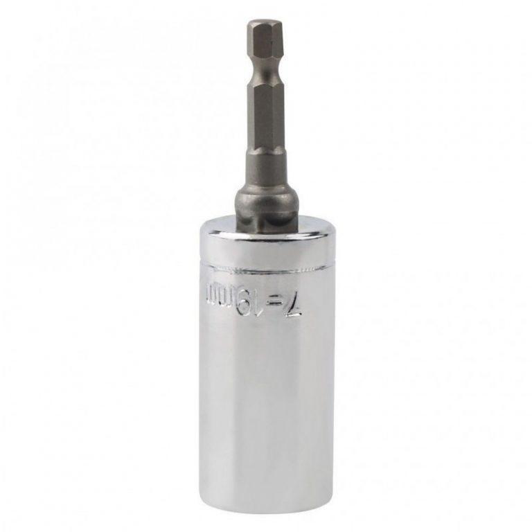 6412 - Насадка для суперключа Distordo 7 - 19 мм + переходник для дрели
