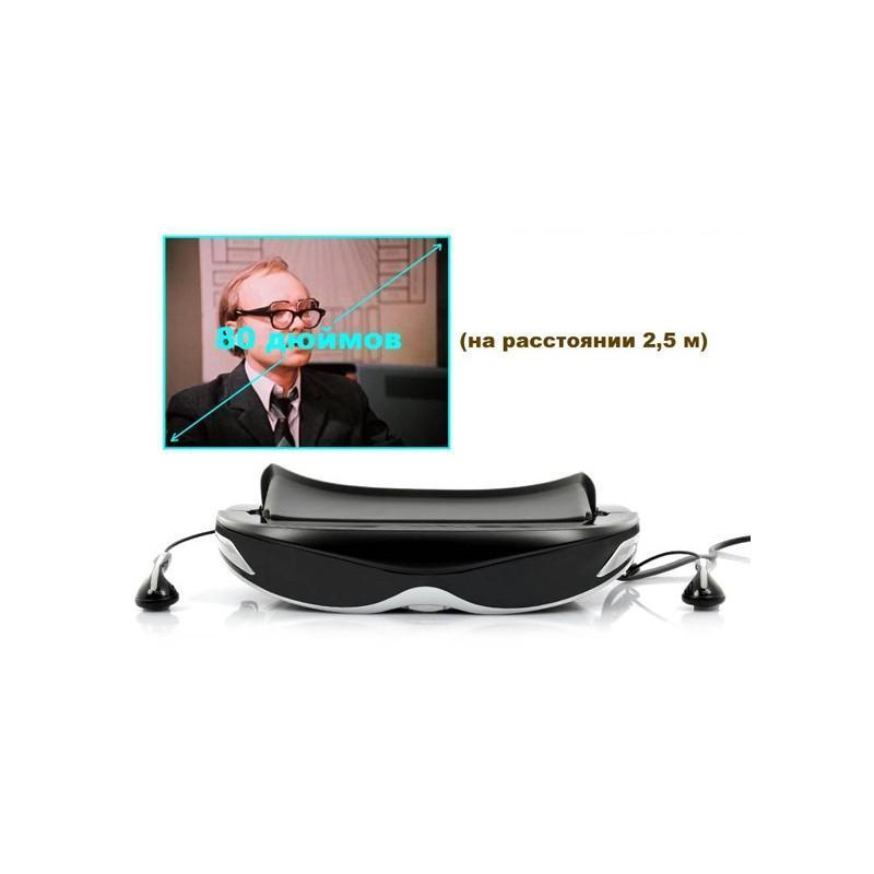 2D/3D видео-очки E376: виртуальный экран 80 дюймов, 4 ГБ встроенной памяти, AV-подключение, NTSC/PAL/SECAM 188645