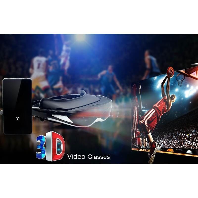2D/3D видео-очки E376: виртуальный экран 80 дюймов, 4 ГБ встроенной памяти, AV-подключение, NTSC/PAL/SECAM 188646