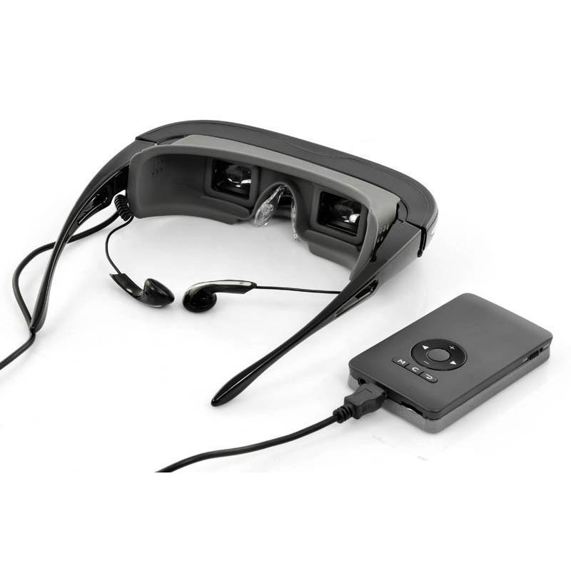 2D/3D видео-очки E376: виртуальный экран 80 дюймов, 4 ГБ встроенной памяти, AV-подключение, NTSC/PAL/SECAM 188650