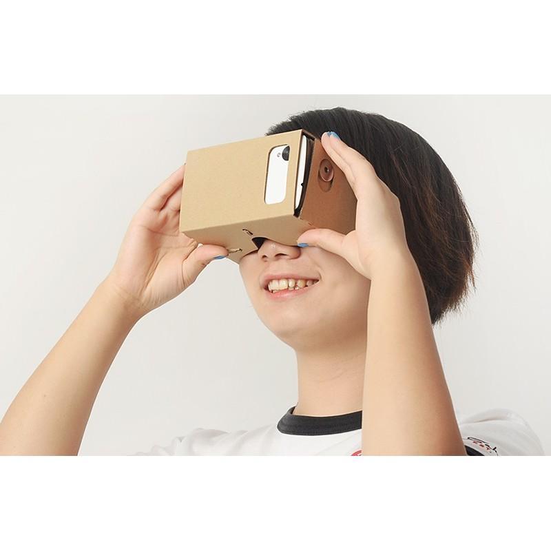"""Картонные 3D-очки """"Сделай сам"""" от Google: горизонтальная стереопара, линзы в комплекте, для смартфонов до 13,5 см в длину 188658"""