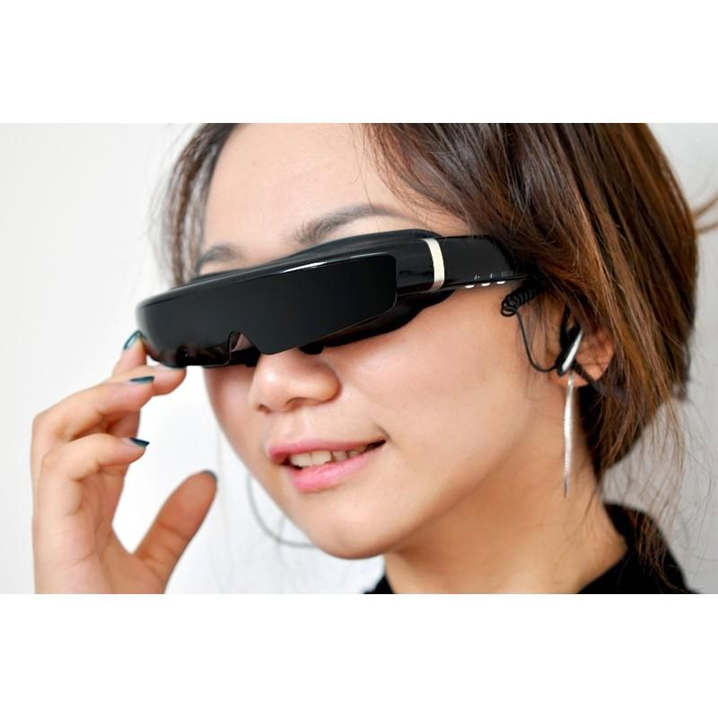 2D / 3D видео-очки E379: виртуальный экран 98 дюймов, Full HD 1080p, AV-подключение, поддержка SD-карты 188665