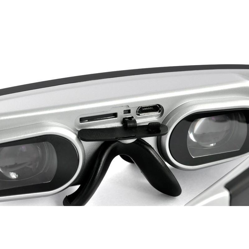 2D / 3D видео-очки E379: виртуальный экран 98 дюймов, Full HD 1080p, AV-подключение, поддержка SD-карты 188670