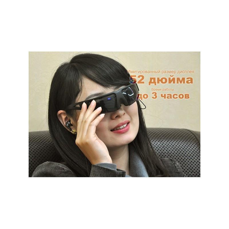 Видео-очки E347: виртуальный экран 52 дюйма, AV-подключение, NTSC/PAL/SECAM 188695