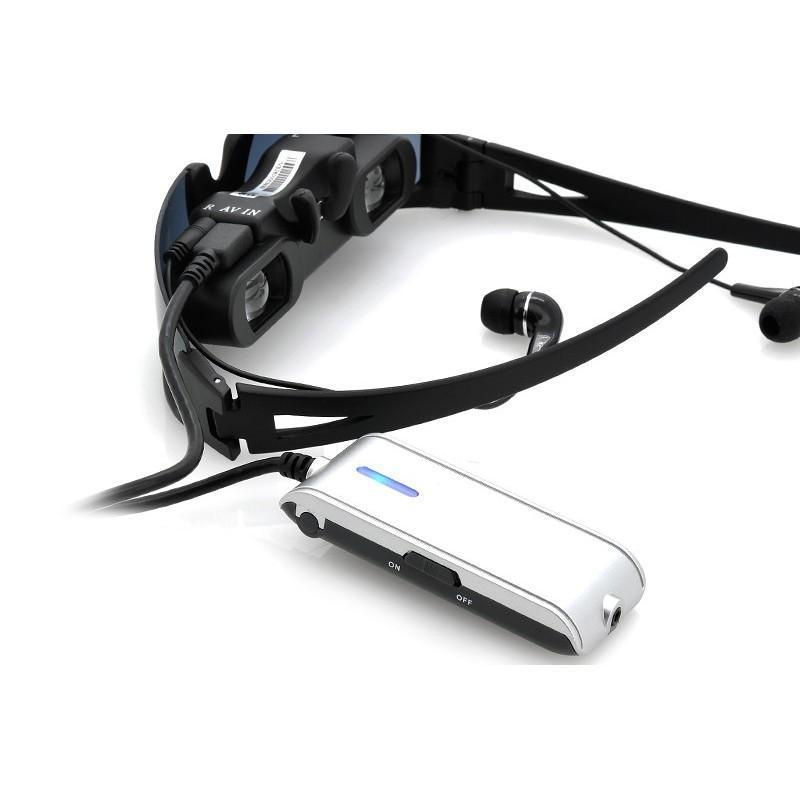 Видео-очки E347: виртуальный экран 52 дюйма, AV-подключение, NTSC/PAL/SECAM 188696