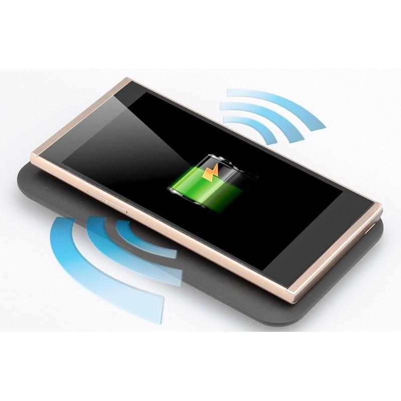 Зарядная площадка Qi + универсальный приемник для смартфонов с Micro USB A389 (беспроводная индукционная передача энергии) 188701