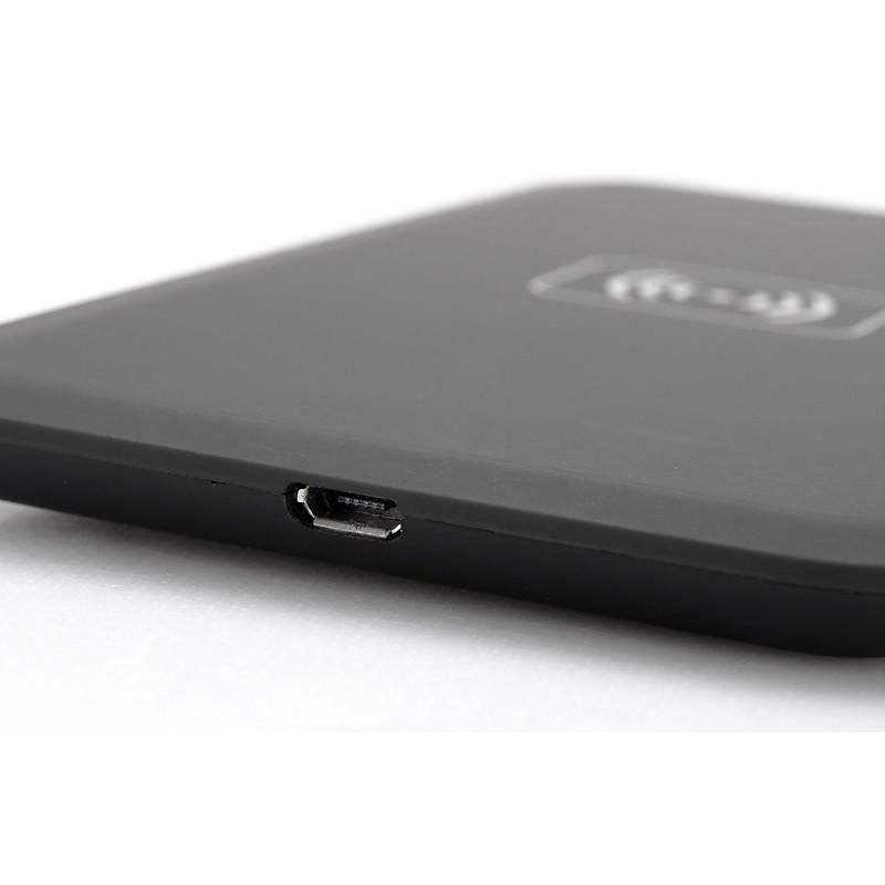 Зарядная площадка Qi + универсальный приемник для смартфонов с Micro USB A389 (беспроводная индукционная передача энергии) 188703