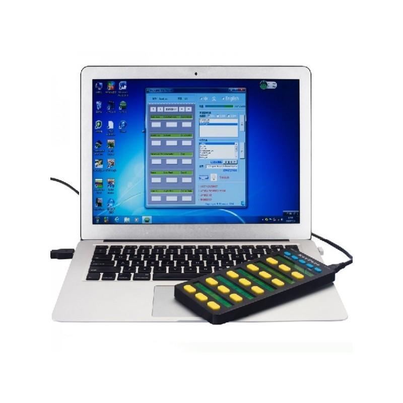 Универсальная программируемая USB-клавиатура: 20 клавиш, LCD-дисплей, подключение по OTG 188741