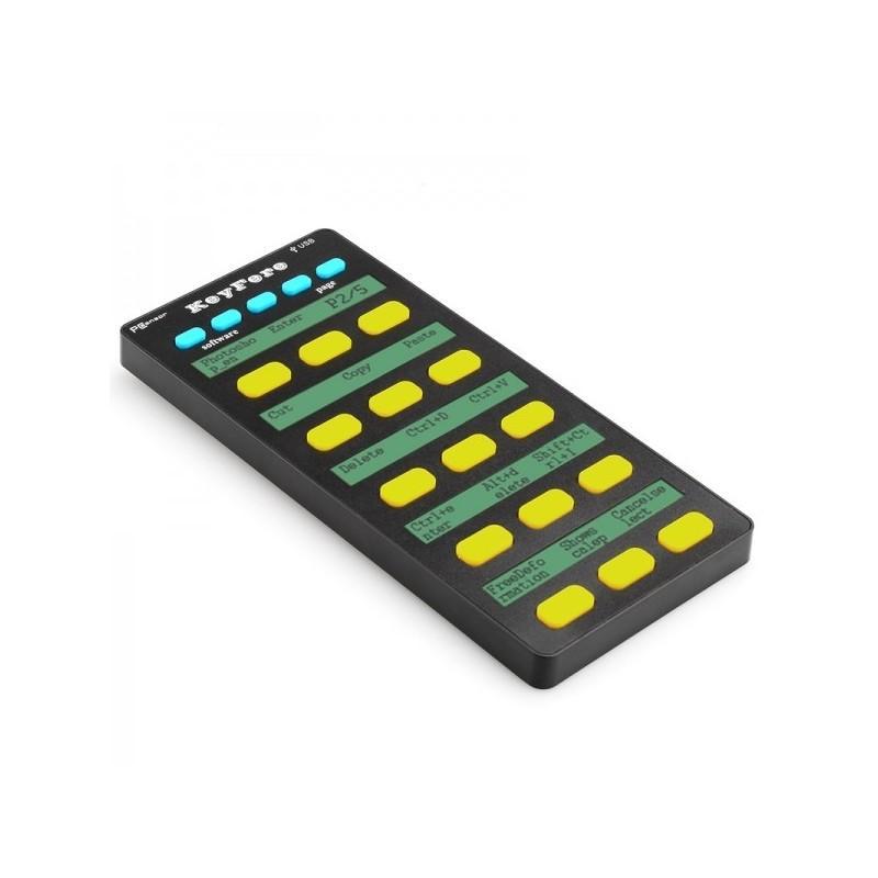 Универсальная программируемая USB-клавиатура: 20 клавиш, LCD-дисплей, подключение по OTG