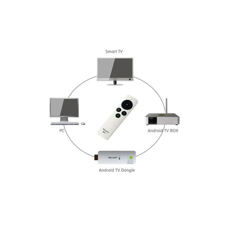 Гироскопическая аэро-мышь Measy RC9 – универсальный пульт для Smart TV (Android, Windows, MAC, Linux) 188749