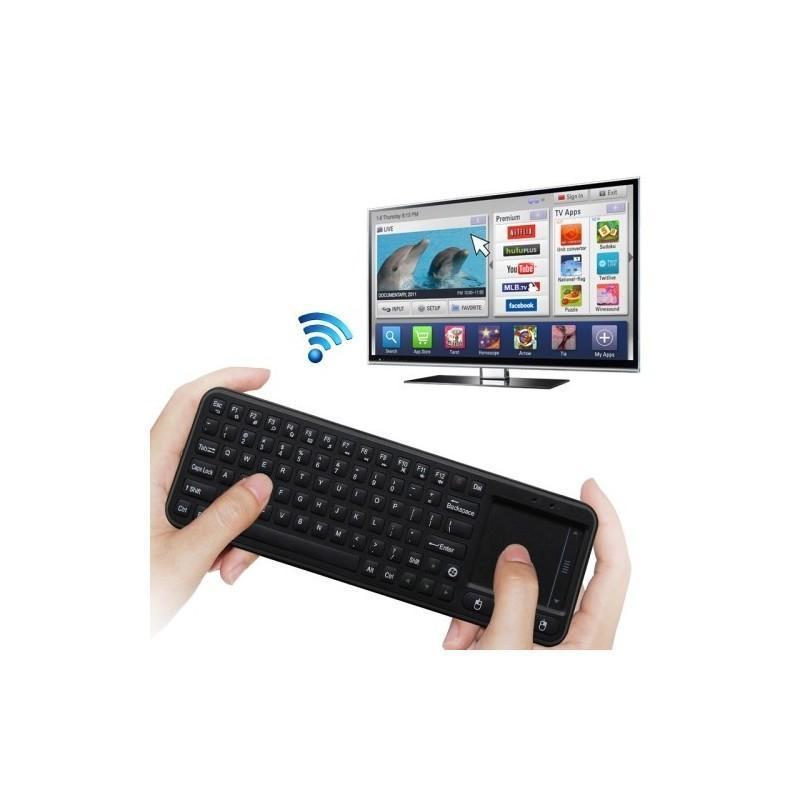 Беспроводная клавиатура с тачпадом Measy RC8 для Android TV Box, мини-ПК и проектора