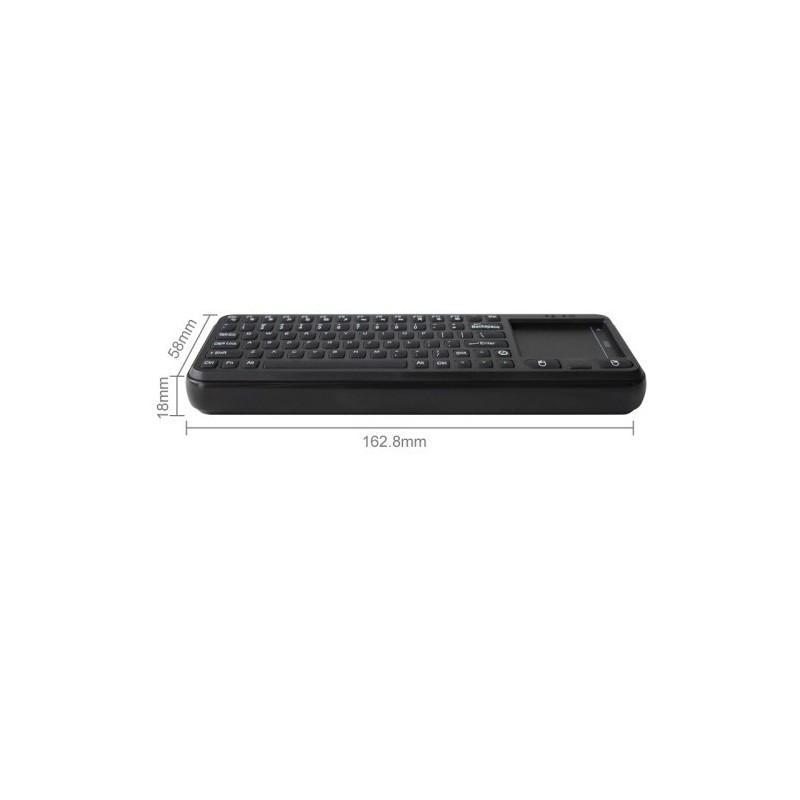 Беспроводная клавиатура с тачпадом Measy RC8 для Android TV Box, мини-ПК и проектора 188757