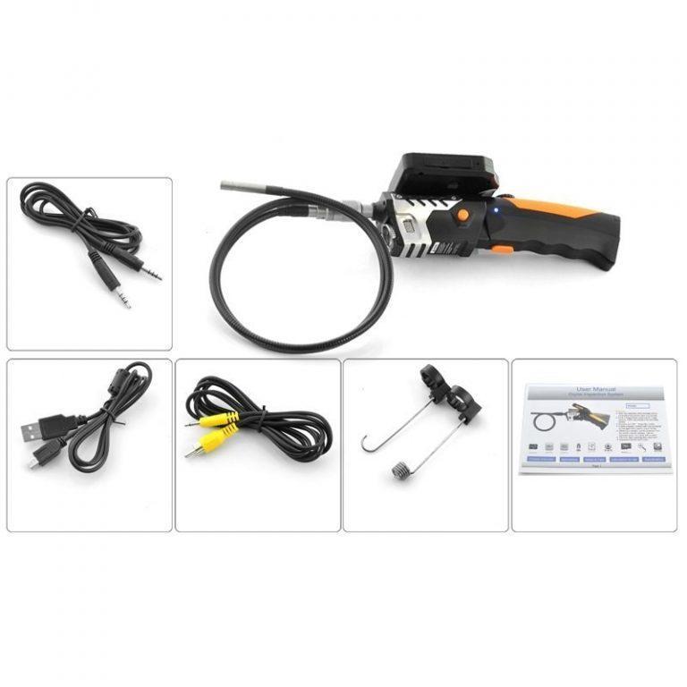 6898 - Технический эндоскоп (видеоскоп) с записью 720p HD-видео DV34 (кабель 1,3,5 метров)