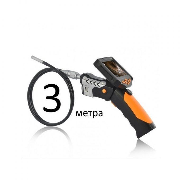 6902 - Технический эндоскоп (видеоскоп) с записью 720p HD-видео DV34 (кабель 1,3,5 метров)