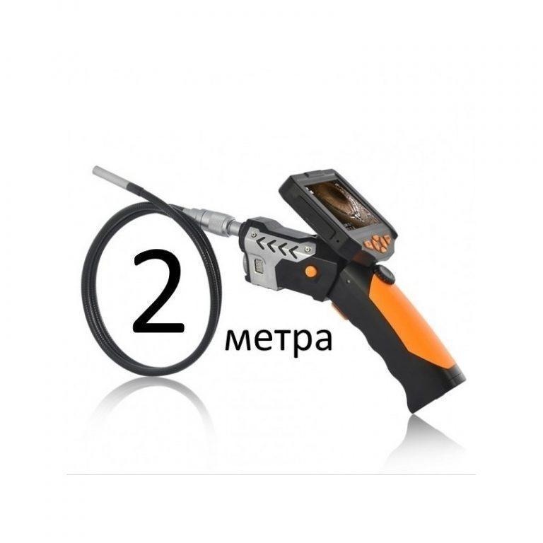 6904 - Технический эндоскоп (видеоскоп) с записью 720p HD-видео DV34 (кабель 1,3,5 метров)