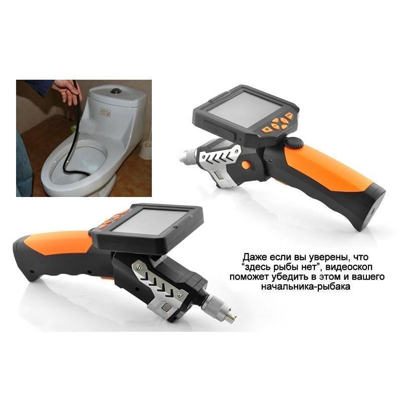 Технический эндоскоп (видеоскоп) с записью 720P HD-видео DV34 с кабелем 1 м 188806