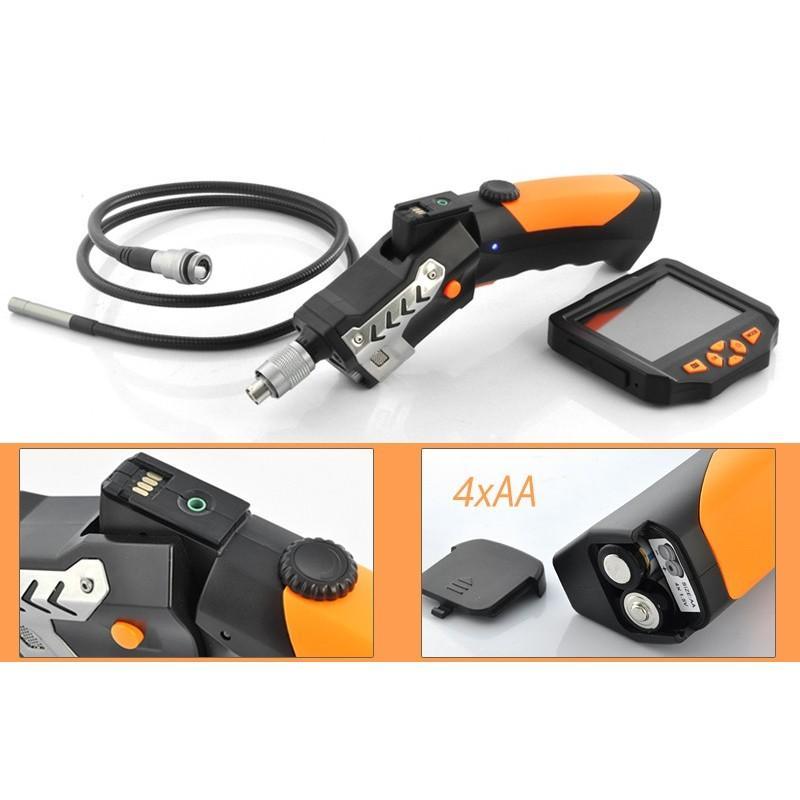 Технический эндоскоп (видеоскоп) с записью 720P HD-видео DV34 с кабелем 1 м 188808