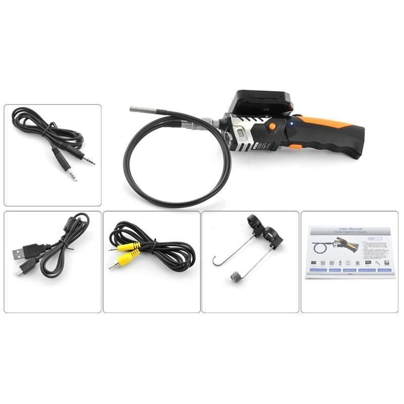 Технический эндоскоп (видеоскоп) с записью 720P HD-видео DV34 с кабелем 1 м 188811