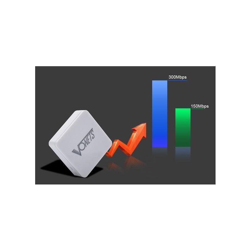 Беспроводной Wi-Fi-ретранслятор + мост K256: скорость до 300Mbps, дальность передачи до 100 м, встроенная система безопасности 188813