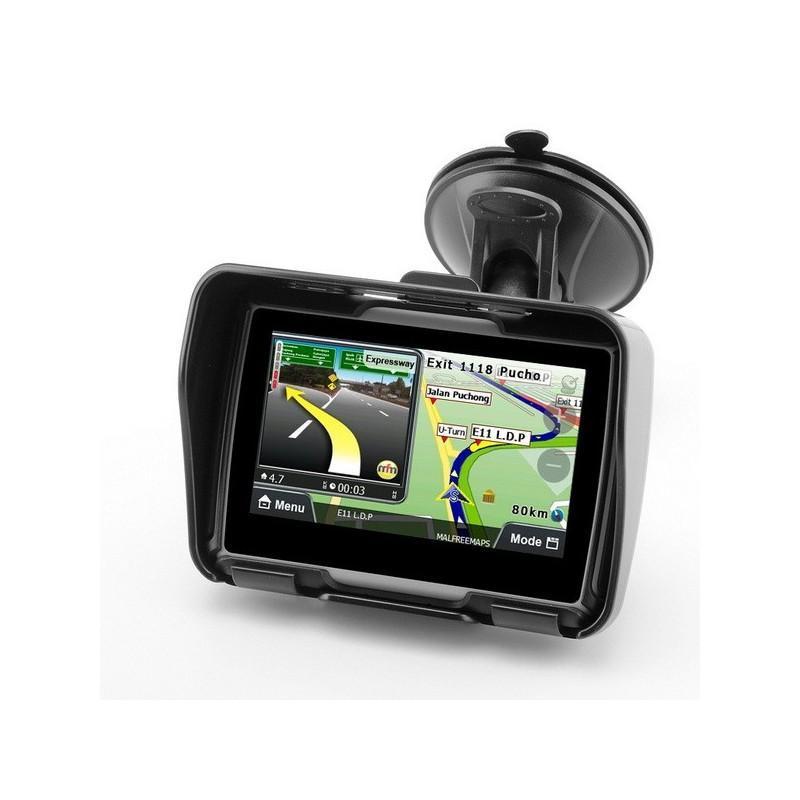 """Мотоциклетный GPS-навигатор """"Rage TR53"""" – экран 4,3 дюйма, водонепроницаемость IPX7, 8 Гб внутренней памяти, Bluetooth 188892"""