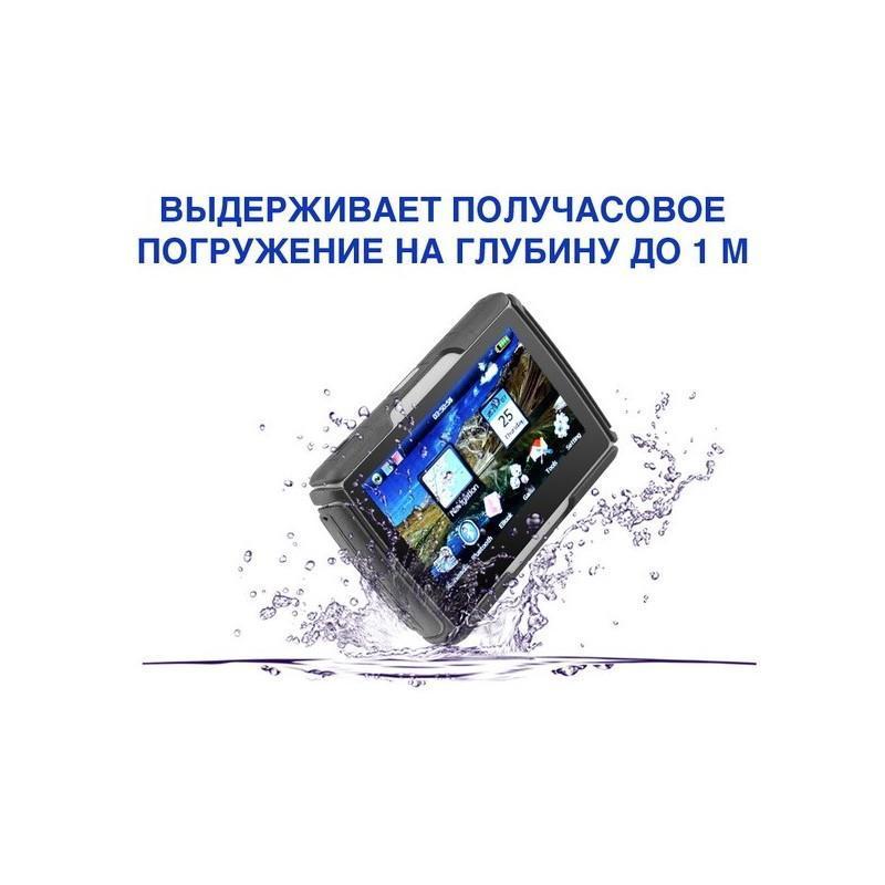 """Мотоциклетный GPS-навигатор """"Rage TR53"""" – экран 4,3 дюйма, водонепроницаемость IPX7, 8 Гб внутренней памяти, Bluetooth 188894"""