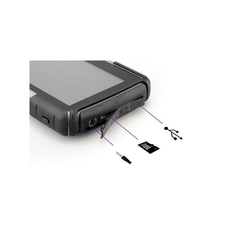 """Мотоциклетный GPS-навигатор """"Rage TR53"""" – экран 4,3 дюйма, водонепроницаемость IPX7, 8 Гб внутренней памяти, Bluetooth 188899"""