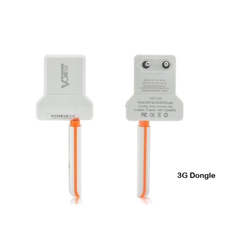 Wi-Fi / 3G маршрутизатор K253 (скорость до 150 Мбит, расстояние передачи до 100 м) + USB-адаптер 188940