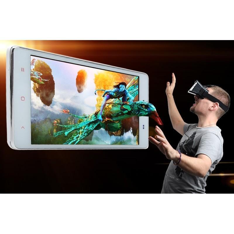 3D-очки для смартфонов (горизонтальная стереопара): 4-7″, регулируемое межзрачковое расстояние, повязка на голову 188973