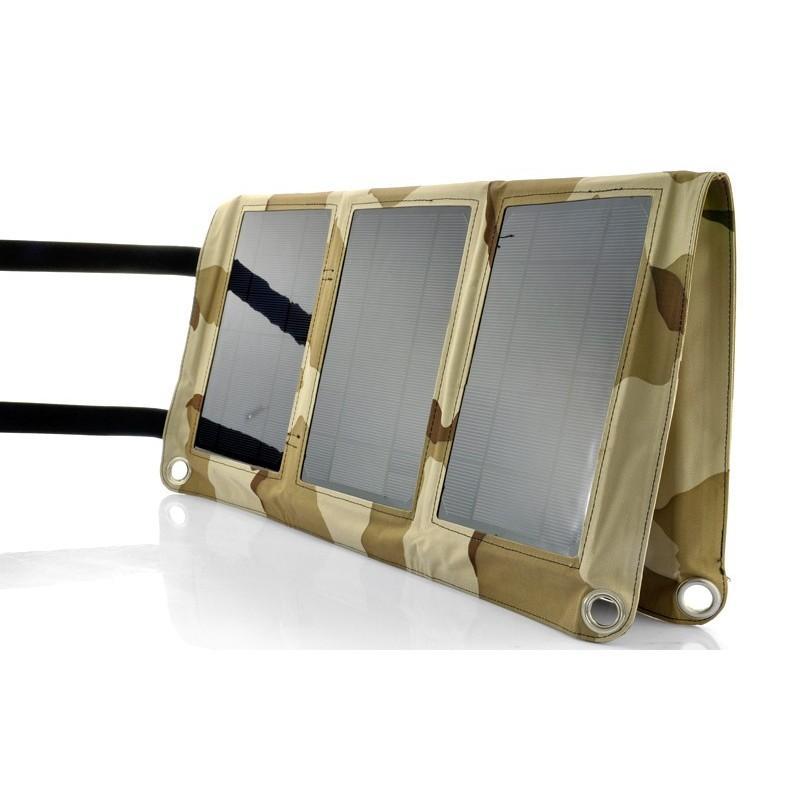 Солнечная зарядка S63 в водонепроницаемом чехле (мощность: 30 Вт) + 10 адаптеров для ноутбуков 189205