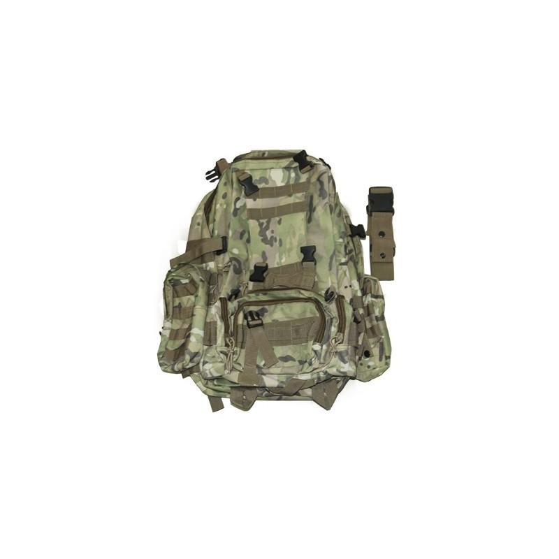 Военный трекинговый рюкзак MOLLE: нейлон 800D, водоотталкивающее покрытие, дополнительные сумки 189206