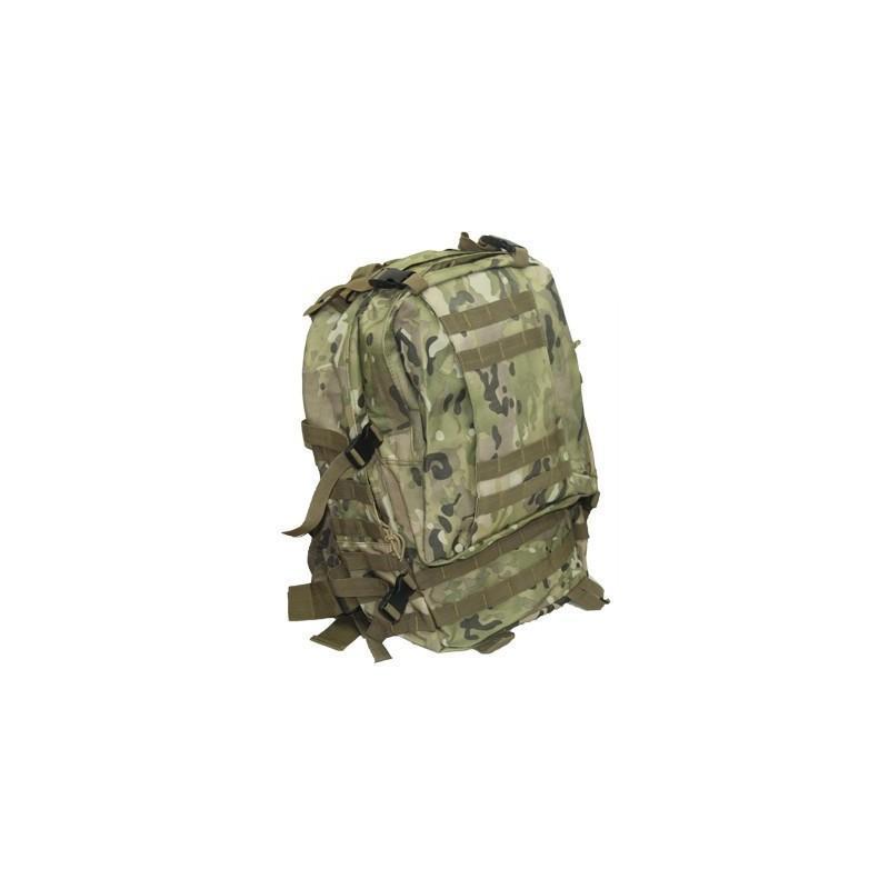 Военный трекинговый рюкзак MOLLE: нейлон 800D, водоотталкивающее покрытие, дополнительные сумки 189208