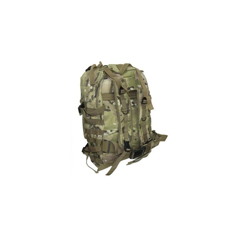 Военный трекинговый рюкзак MOLLE: нейлон 800D, водоотталкивающее покрытие, дополнительные сумки 189209