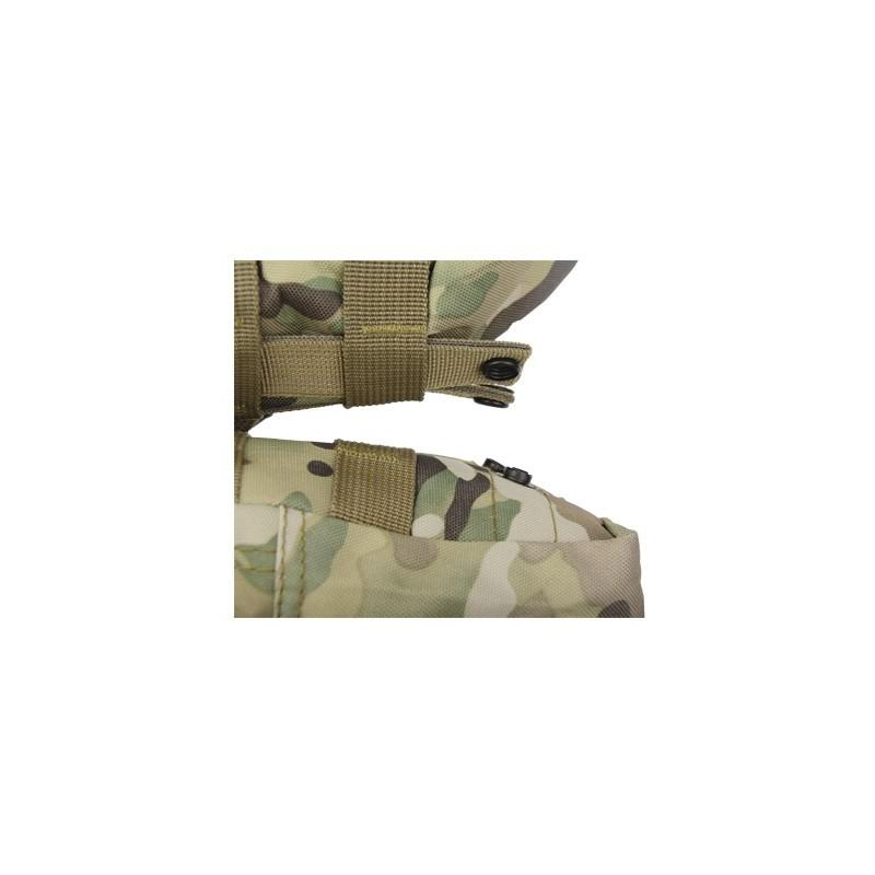 Военный трекинговый рюкзак MOLLE: нейлон 800D, водоотталкивающее покрытие, дополнительные сумки 189211